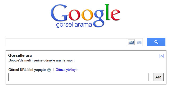 Google Resimle Arama